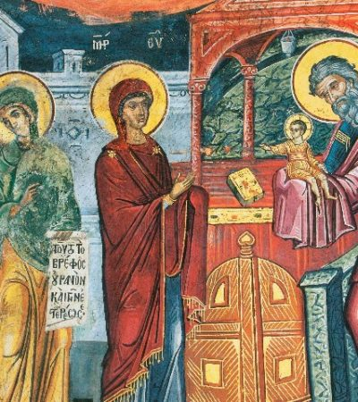 Ο Συμεών ο Θεοδόχος και η διπλή προφητεία του κατά την Υπαπαντή του Κυρίου